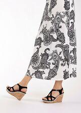LASCANA High-Heel-Sandalette mit Keilabsatz und Strasssteinen  Gr. 40