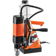 Vevor Magnetic Drill Press Magnetic Base Drill 10kn 1100w 1 38 35 Mm Boring