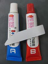 2 PCS A+B Komponenten Epoxidkleber Klebstoff Epoxidharz Epoxid-Sofortfest t P9I7