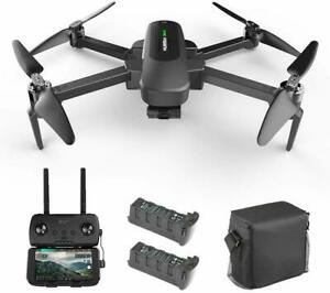 Hubsan Zino Pro+ Drone 5G 8KM FPV APP Quadcopter Portable 3Battery+Bag+ 3Gimbal