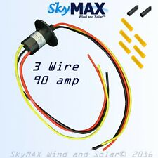 Slip ring KIT 90 amp 3 wire for wind turbine permanent magnet alternator pma pmg