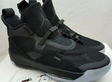 size 40 30b8c 88688 Nike Air Jordan XXXIII 33 Utility Blackout Black Shoes AQ8830-002 Size 10.5