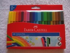BNIB Faber-Castell 20 Pack Connector Pens/Textas