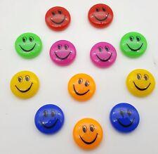 Colorido fuertes imanes Pizarra FRIDGE MAGNET sonriente cara Childern Regalo