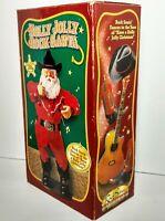 1999 Holly Jolly Rock Santa Collectibles Presenting Allen Jackson Dancing Cowboy
