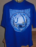 vintage 1995 Indianapolis Colts NFL football t shirt size XXL