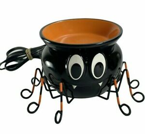 Scentsy ITSY BITSY Wax Warmer Halloween Black Spider RETIRED RARE NEVER USED