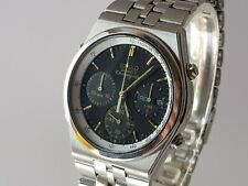Seiko quartz 1/10 chronograph 7A38-7280 from the 80ties in stainless steel, topp
