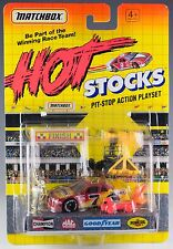 Matchbox Hot Stocks Chevy Lumina Pit-Stop Action Playset New On Card 1991