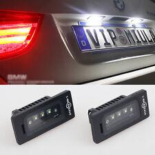 2x Error Free License Plate light LED Cree For BMW E90 M3 E92 E70 M4 F30 E93 E60