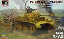 """Pz.Kpfw.II L """"Luchs"""" ,früh und spät, 1/72, Armory, Plastik , Ätzteile, NEUHEIT"""