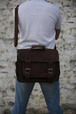 18 Inch Vintage Handmade Leather Messenger Bag for Laptop Briefcase Best Bag