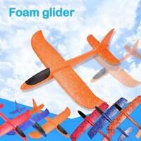 Foam Hand Throw Airplane Aircraft Launch Glider Plane Model Kids Toys Gift  A#S