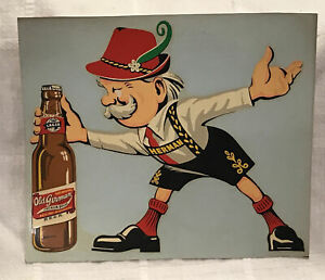 Vintage Old German Beer Decal Sticker Cumberland Brewery