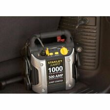 Stanley Jump Starter Car Battery Charger 120 PSI 1000/500 Amp With Compressor