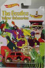 HotWheels Beatles  Mini Cooper Mint on mint USA card