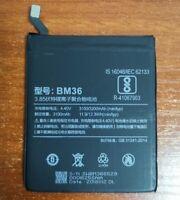 Original Battery BM36 3100mAh 3.85V BM 36 For Xiaomi 5S Mi 5S M5S Phone Warranty