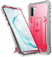 Galaxy Note 10 Plus ,Poetic Dual Layer Shockproof Case Cover w/Kickstand Pink