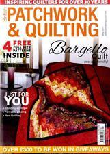 Patchwork & Quilting revista #280 - edificio Edredón, fantástica Piecing