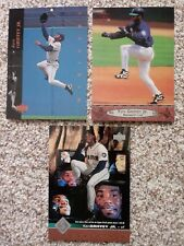 Ken Griffey Jr LOT OF 3 Upper Deck Jumbo 5 x 7 Cards. Oversize. Nice