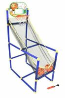 KIDS CHILDREN INDOOR OUTDOOR BASKETBALL SET SHOOT HOOP BACKBOARD BASKET BALL NEW