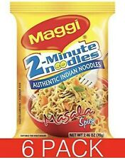 Nestle Maggi 2 Minute Instant Noodles- 6 Separate Packs! Fast Shipping from USA