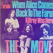"""7"""" 1970 ! THE MOVE : When Alice Comes Back To The Farm"""