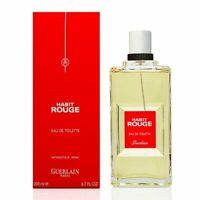 HABIT ROUGE by Guerlain 6.8 / 6.7 oz. edt spray Men's Cologne 200 ml New NIB