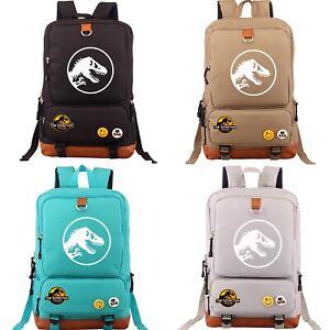Jurassic World Park Rucksack Studenten tasche Reisetasche Studententasche