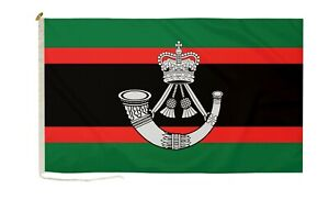 DuraFlag The Rifles Military 3ft x 2ft Flag with Rope And Toggle