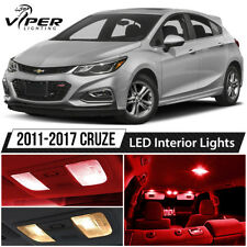 2011-2017 Chevy Cruze Red LED Interior Lights Package Kit
