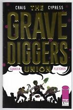 Grave Diggers Union #1 Gold Foil Logo Variant Cover