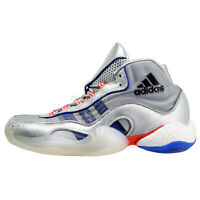 Adidas 98 x Crazy BYW Micropacer Boost Hi Top Basketball Shoes Silver, Mens Size