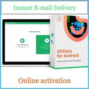 UltData Android Data Recovery - Data Savior - 100% Genuine License Key -E-mail