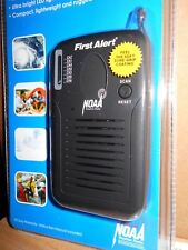 First Alert Pocket Hand held FM Radio Weather Bands Emergency 24/7 3 AAA Slim