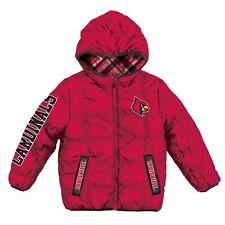 "Louisville Cardinals ""PUFFY"" ncaa WINTER Jacket Jersey YOUTH KIDS BOYS m-medium"