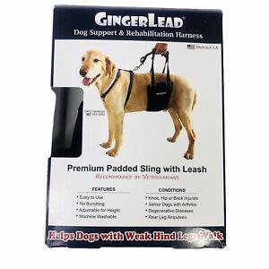 GingerLead Unisex Medium Large Dog Support & Rehabilitation Harness