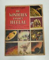 Vintage 1956 Dutch Encyclopedia Miracles of the Universe magazine
