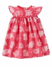 NWT Gymboree ELEPHANT OASIS Size 6-12 Floral Print Dress