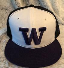 New Era 59fifty Washington Huskies 2-Tone Sz 7 3/8 BRAND cap hat Fitted