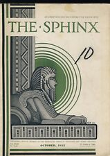 GLK 1932 The Sphinx October 1933 Vintage Magicians' Magazine