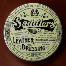 Saddlers all natural leather balm conditioner restorer & waterproofer
