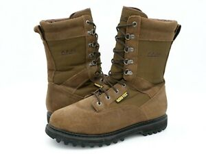 Cabela's Mens 13D 81-2395 Brown Suede Gore-Tex Lace Up Round Toe Boots