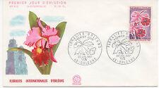 FRANCE 1967.F.D.C.FLORALIES INTERNATIONALES D'ORLEANS .OBLIT:LE 29/7/67 ORLEANS