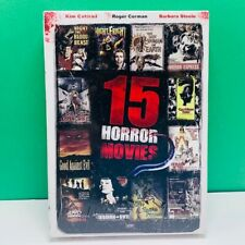 DVD set 15 horror movies night fright last woman earth snake people bee girls