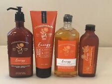 Bath & Body Works Aromatherapy Energy Orange Ginger Body Cream Wash Lotion Pick1