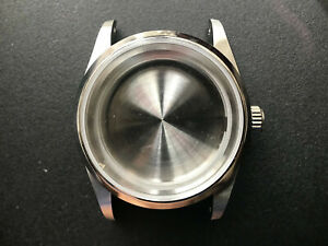 36MM STEEL EXPLORER WATCH CASE WITH DRILLED THROUGH LUG FIT ETA 2824 OR NH35/36