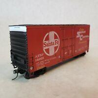 Athearn HO Santa Fe Super Shock Control 40' High Cube Box Car #14021 w/kadee