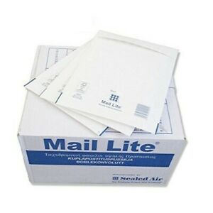 QUICK Mail Lite Mailing Padded Postal Envelopes Bags Size A/000 to K7 Gold White