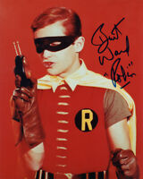 BURT WARD SIGNED AUTOGRAPHED 8x10 PHOTO BATMAN & ROBIN RARE BECKETT BAS